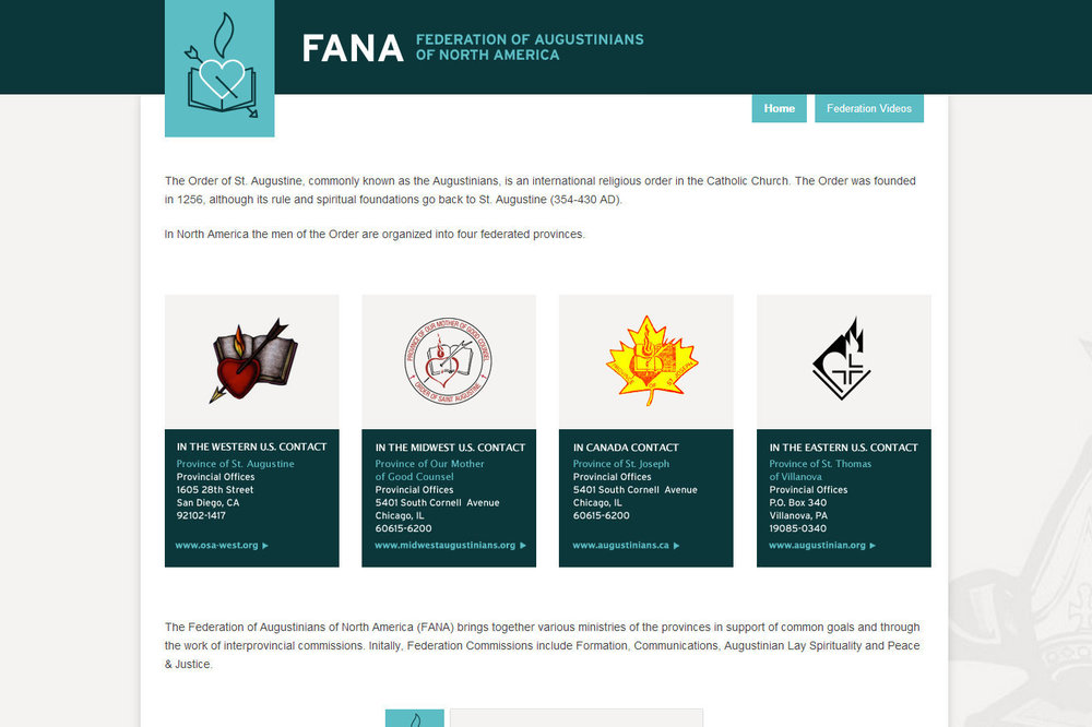 Screenshot of www.fanaosa.org