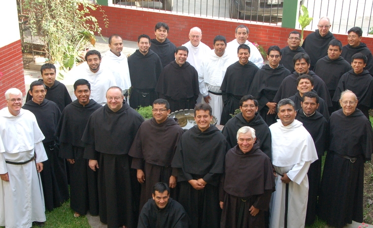 The Augustinians serving the Vicariate in Northern Peru in 2014