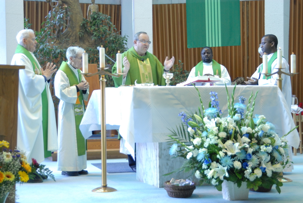 Fr. Bernie celebrated the opening Year-of-Faith Mass for the Canadian Augustinians in 2013 when the Marylake Shrine in Ontario was named one of four places of pilgrimage in the Archdiocese of Toronto