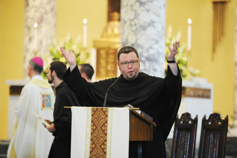 Fr. Rich Young, O.S.A., D.Min., has led the music for many Province events