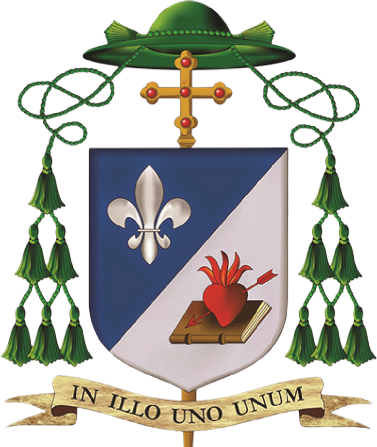 Bishop Robert Prevost coat of arms