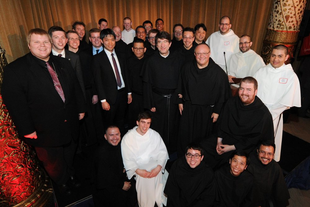The Augustinian Men in formation attending the 2015 Augustinian Gala