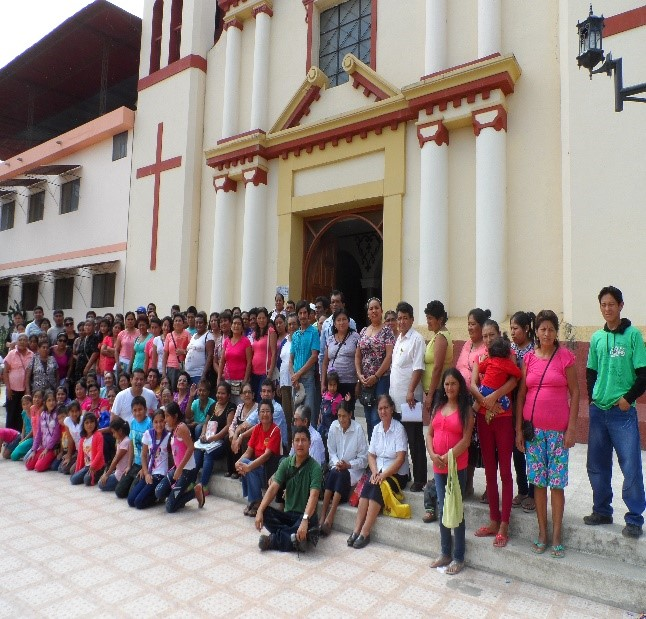 More than 150 lay people committed themselves to bringing the Gosepl to different zones in the Augustinian mission parish of Morropón, Peru
