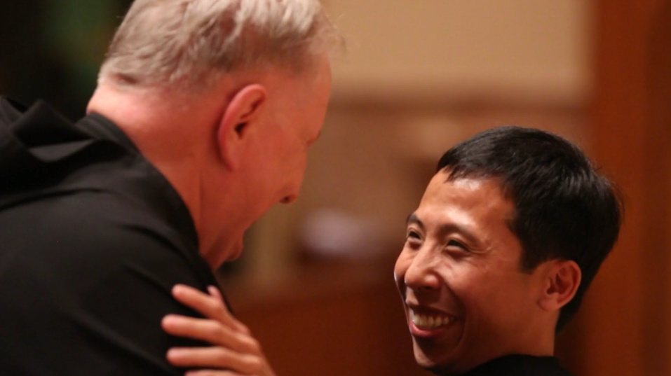 Br. Richie Mercado, O.S.A., Solemn Vows at Holy Name Cathedral