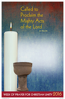 Week of Prayer for Christian Unity Prayer Card