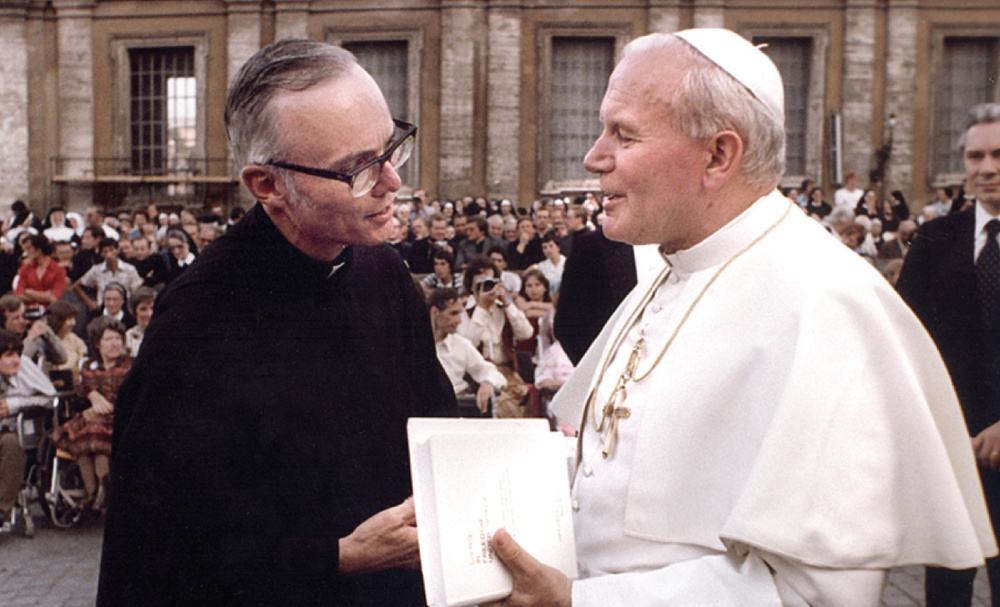Fr. Ted Tack, O.S.A., served as the worldwide leader of Augustinians under the pontificate of St. John Paul II