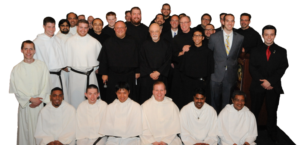Some of this year's Men in Augustinian Formation