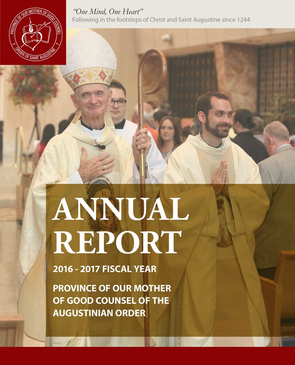 View Our 2016-2017 Annual report for the Midwest Augustinian province