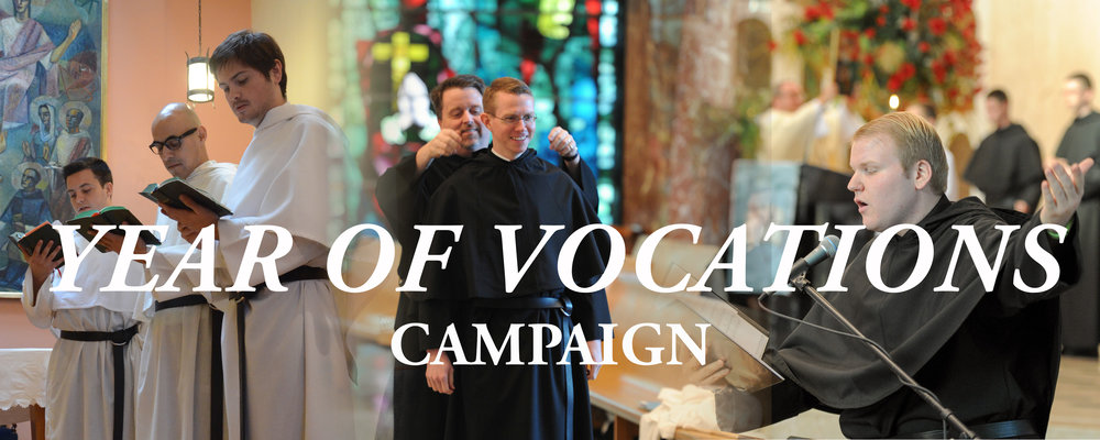 find out about our year of vocations campaign to support the education of new Augustinian priests and brothers