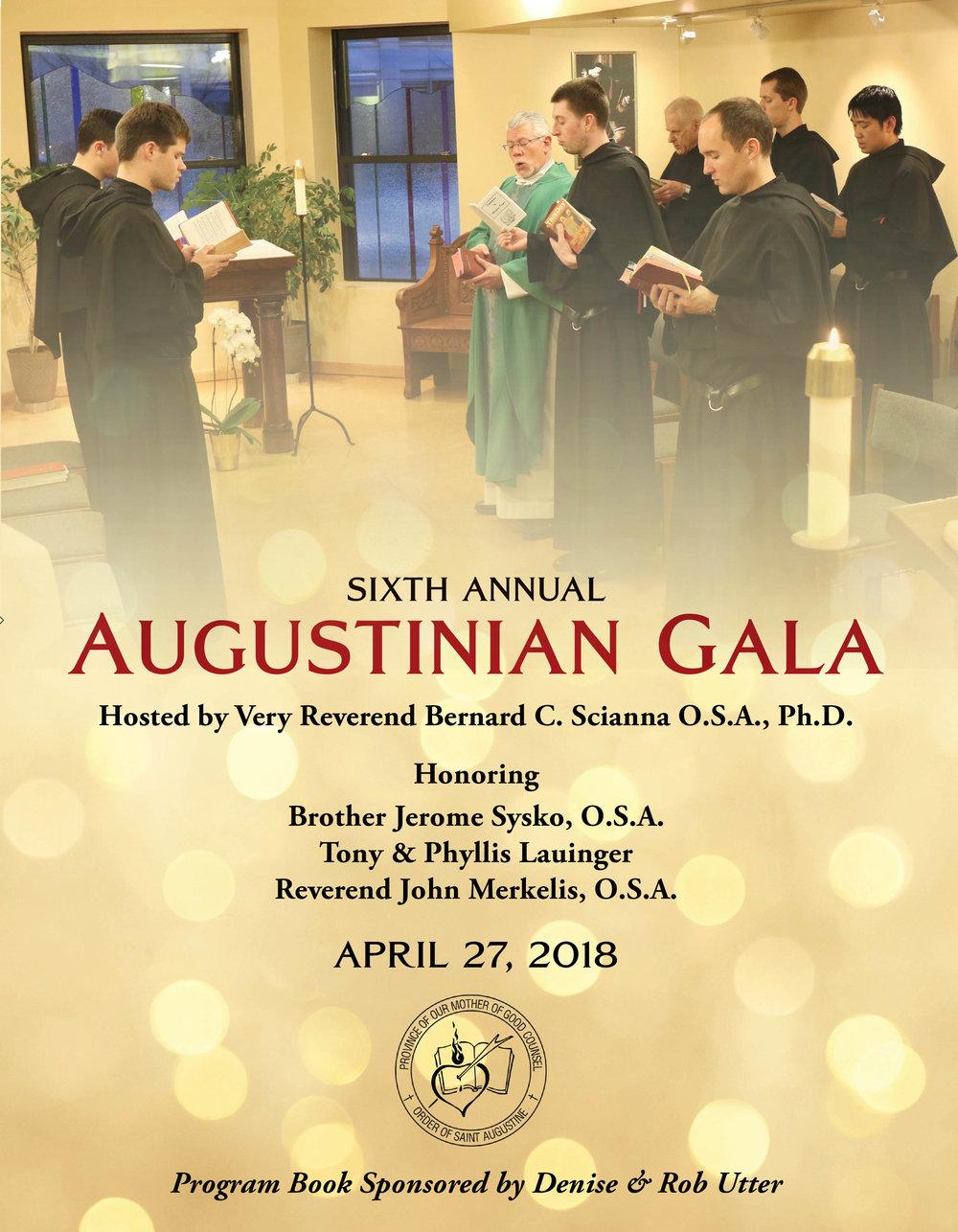 2018 Gala Program Book