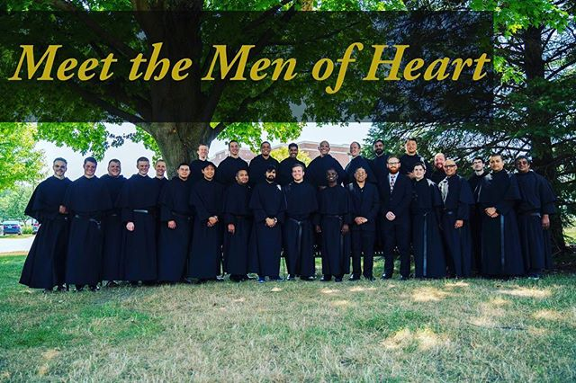 """Just updated on AugustinianVocations.org Meet all our 'Men of Heart"""", learn where they are from, what they did before entering formation and why they joined #Augustine #vocations #priest #Catholic #catolico #religiouslife #prayers #monastery #religion"""