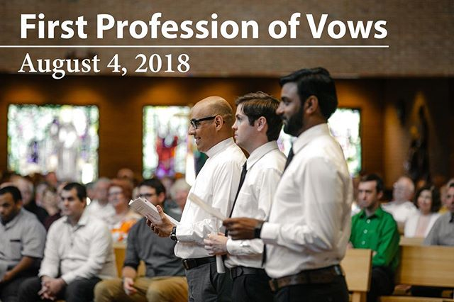 New Video up on AugustinianVocations.org.  Testimonies from Our Recently Professed Brothers, See Them Make Their First Vows to Our Order #vows #love #catholic #religiouslife #brotherhood #augustinian #augustine #saints #vocation #religiousorders #commitment #vatican #priest
