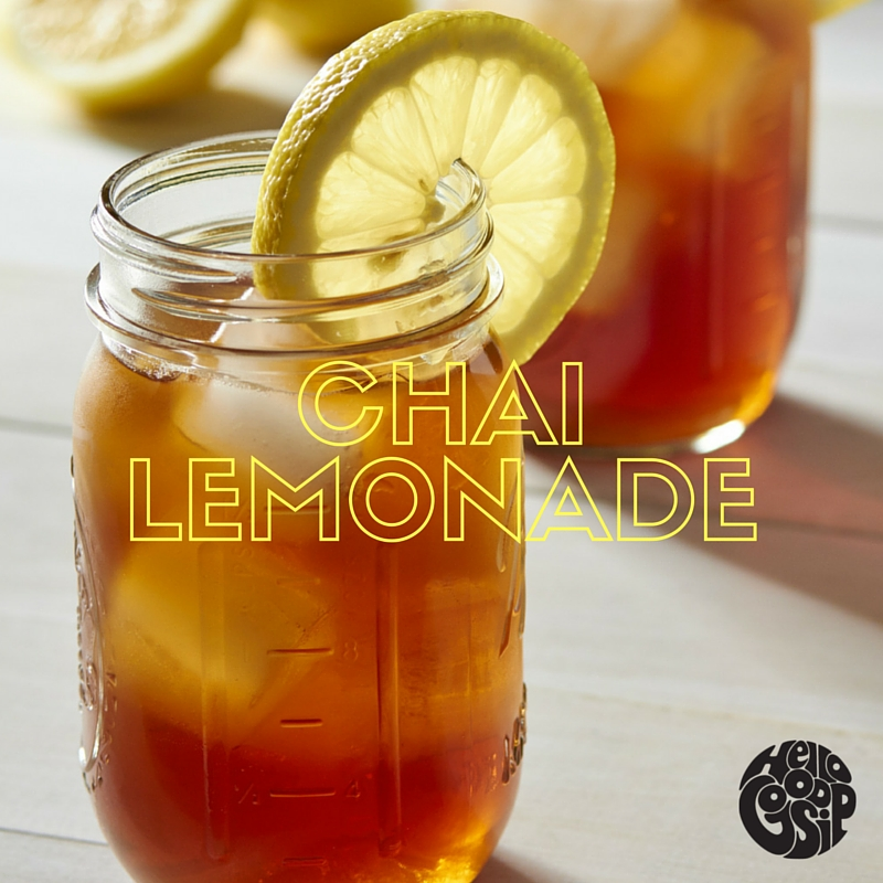 Chai Lemonade - You will need: 25-30cl homemade lemonade* (or a good ready-to-drink lemonade),  3-4 tsp of Mumbai Railway Chai, Ice cubes, cucumber and/or lemon slices.1) Pour the Lemonade into a shaker.2) Add 2 teaspoons of Mumbai Railway Chai.3) Add the ice cubes.4) Add some slices of cucumber (optional).5) Shake!6) Pour the Chai Lemonade through a fine sieve into a glass and garnish with some roughly chopped cucumber or lemon slices.  Enjoy!* Click here for an excellent