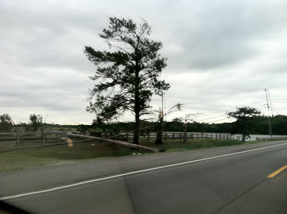 Overnight Ohatchee destruction