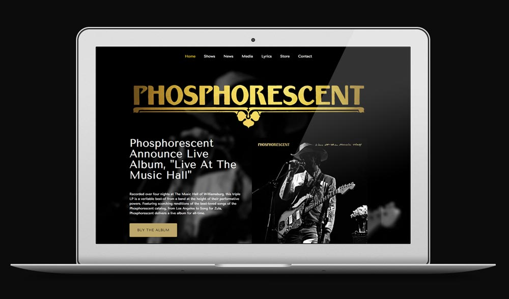 Phosphorescent Desktop Design