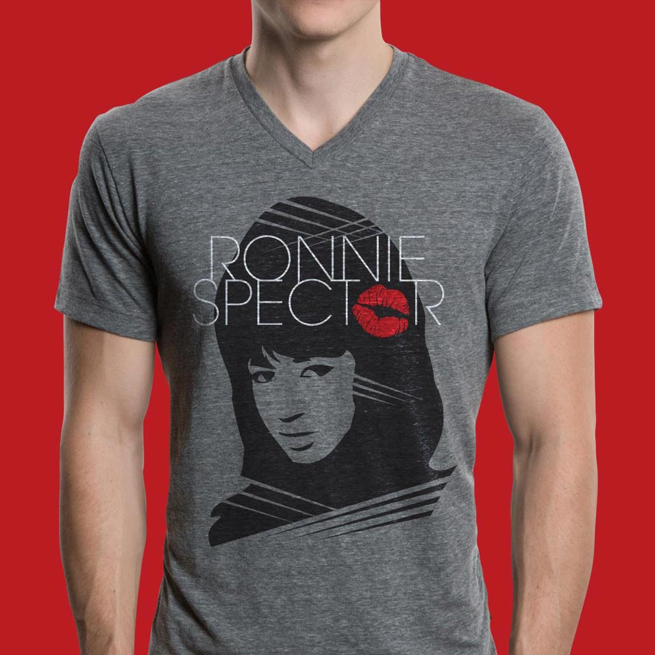 Ronnie Spector T-Shirt Design