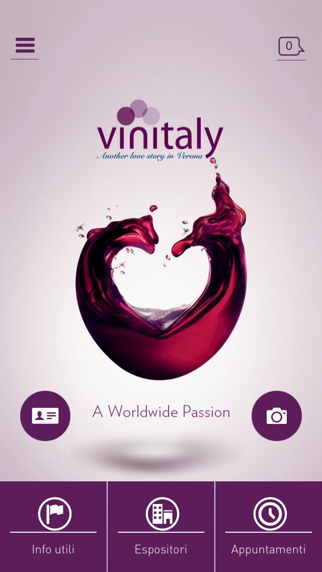 Vinitaly 2014 in versione iOS.