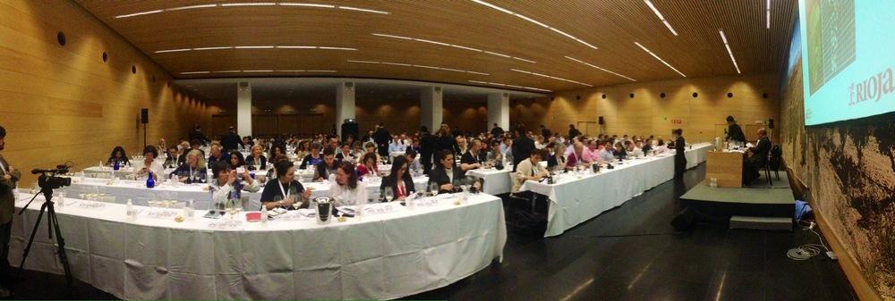 Una  delle   Masterclass dell' edizione 2013 a Logrono,Rioja, Spagna