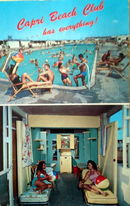 Post Cards Atlantic Beach Capri