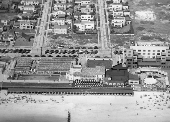 Atlantic Beach Club Aerial View