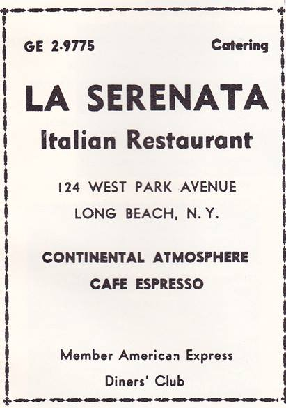 Bar & Rest La Serenata Italian