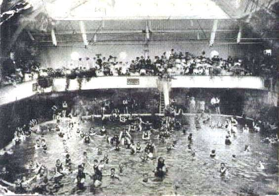 BATH HOUSE INTERIOR