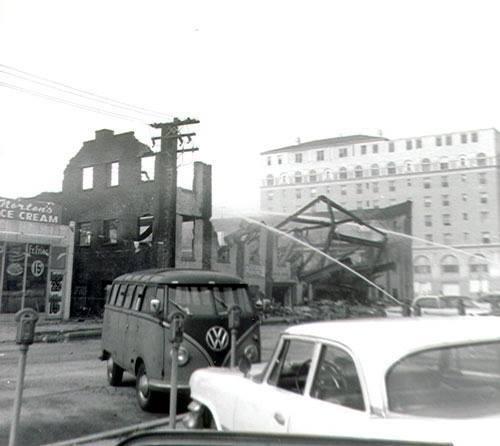 Hortons Fire 1960's