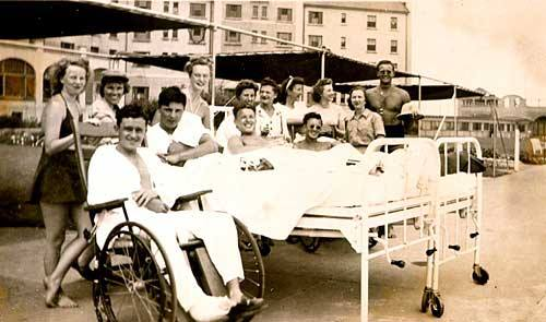Hotel Lido Lifeguards Recovering Servicemen WWII 1946.jpg