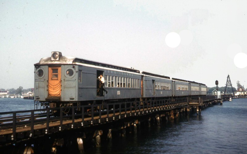 LIRR 1956 MU Train Reynold's Channel LEAD Long Beach-View N (Edwards-Keller).jpg
