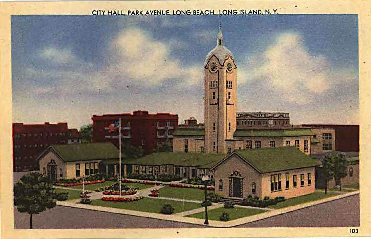 Post Card Long Beach City Hall.jpg