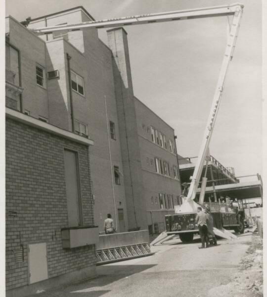 Fire Dept Snorkel 2 Drill LB Hospital 1960's.jpg