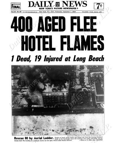 President Hotel and fire. 1965.jpg
