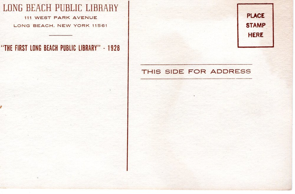 LONG BEACH PUBLIC LIBRARY 1928 POST CARD B.jpg
