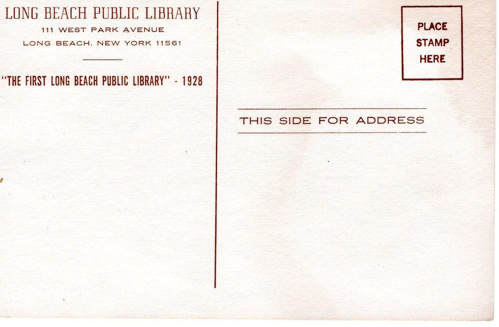 LONG BEACH PUBLIC LIBRARY 1928 POST CARD B.jpg