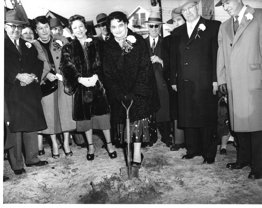 LONG BEACH PUBLIC LIBRARY 1954 DEC 20 GROUND BREAKING 2.jpg