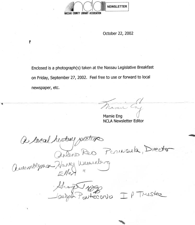 NC LEGISLATIVE BREAKFAST LETTER SEPTEMBER 27, 2002.jpg