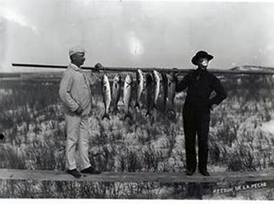 Hotel Long Beach 1890 Stringer of Bluefish.jpg