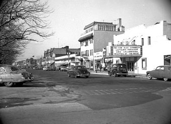 Park Avenue Looking West Lido Theater 1951 Bob Foster.jpg