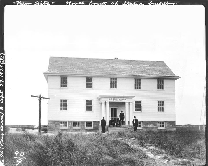 Coast Guard Station New Site North Front of Station Sept 27, 1921.jpg