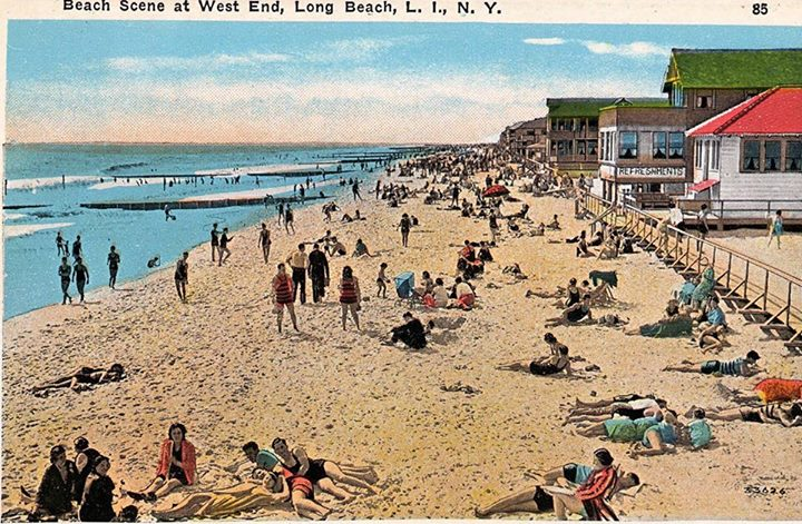 Beach Scene West End Post Card.jpg