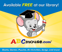 ABCmouse.com is available for FREE on the Youth Services Department computers.