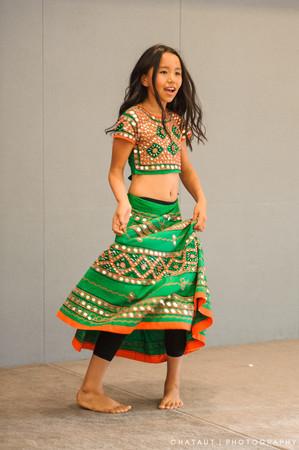 Entertainment - young dancer at Himalayan event