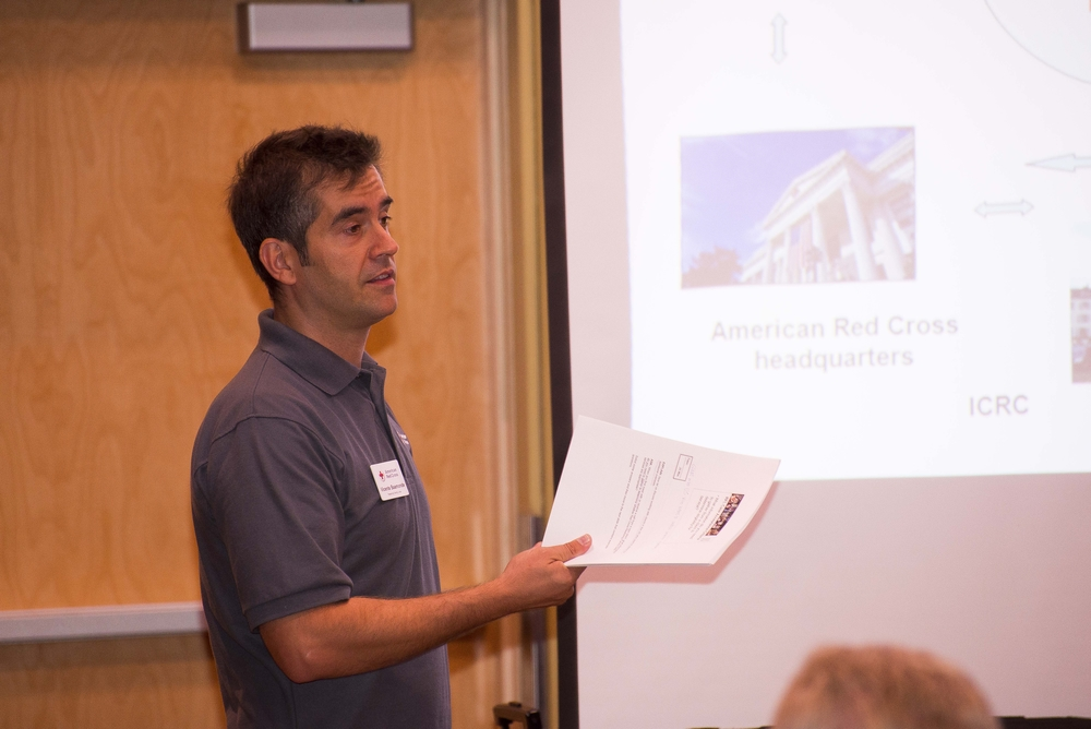Vicente Baamonde, International Service Program Manager for the Grand Canyon Chapter
