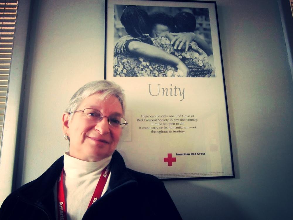 Robbe Sokolove, Red Cross Volunteer