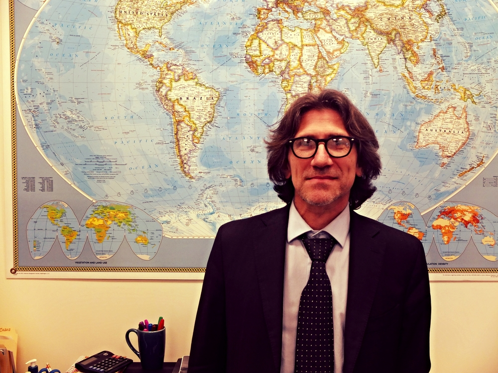 Jordi Raich, head of the International Committee of the Red Cross (ICRC) in Bogota, Colombia