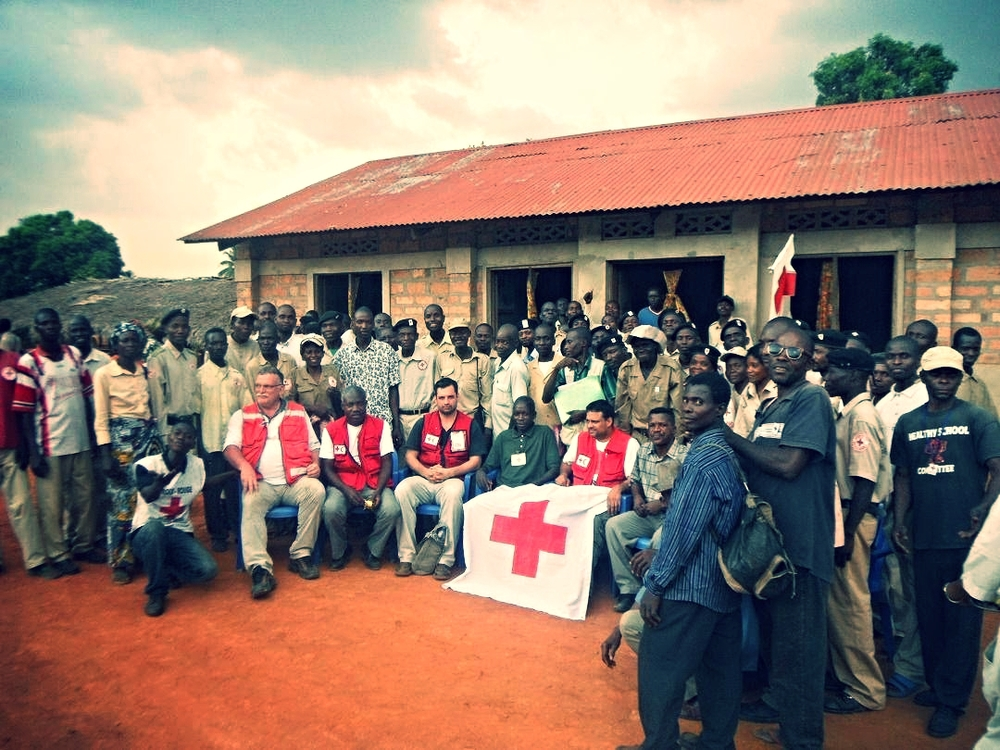 Congolese refugees. Photo courtesy of   Canadian Red Cross  /Gina Holmes.