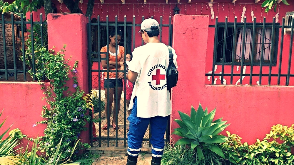 Service delivery provided by the Paraguay Red Cross
