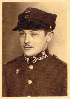 Cabo Boleslaw Obst, 1939.  Foto de Dawid Kufel.