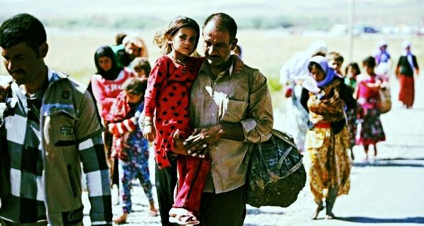 Millones de iraquís han sido desplazados de su país por conflicto.