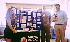 Participar en eventos es una forma de llegar a personas que necesitan utilizar los servicios de reconexion familiar de la Cruz Roja.